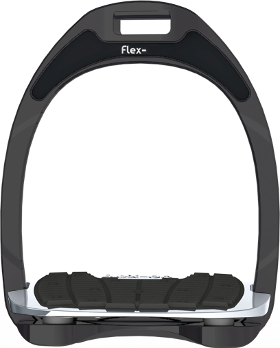 Flex-On Aluminium Stirrup - Silver Aluminium