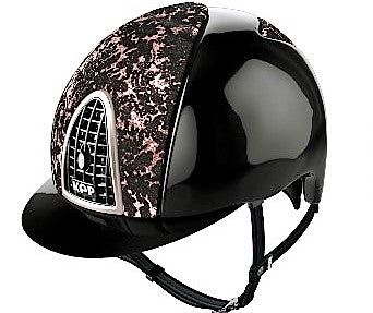 KEP Black Polish with Pink Galactica front and back