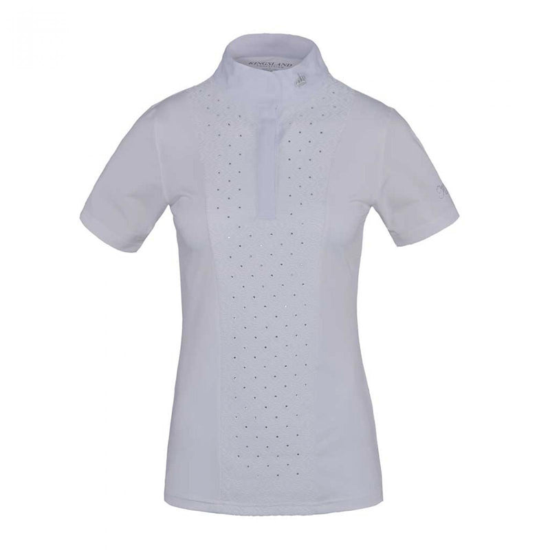Kingsland Triora Ladies short sleeve Show Shirt White