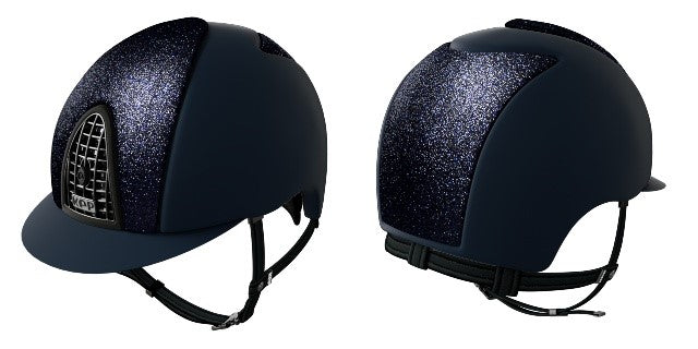 KEP Navy Textile hat with Blue Star front and Rear panels