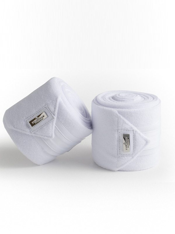 Equestrian Stockholm White with Silver bandages