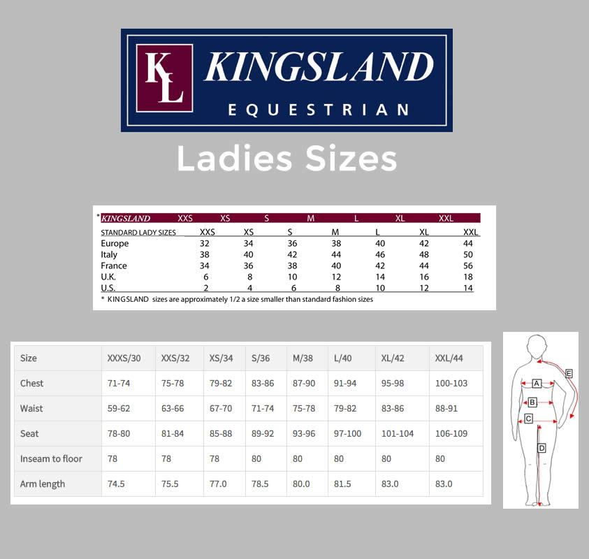 Kingsland Triora Ladies short sleeve Show Shirt Navy