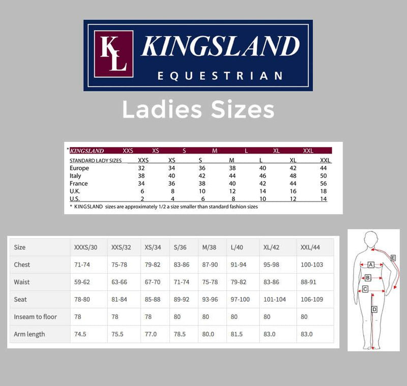 Kingsland SS20 Katinka Full Seat Riding Tights VARIOUS COLOURS