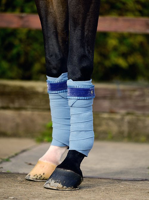 PS of Sweden Light Blue Ruffle Bandages