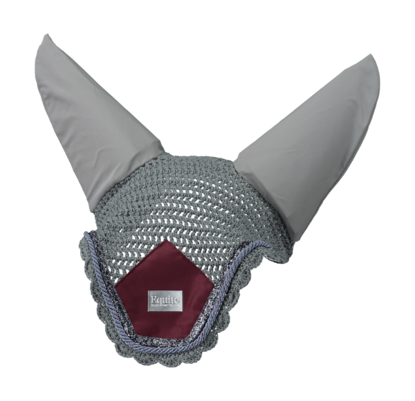 Equito Platinum Grey Fly Veil