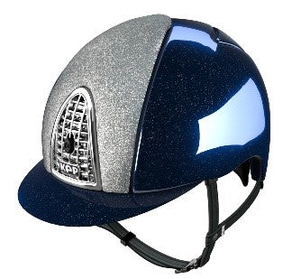 KEP - Cromo Blue Diamond Metal helmet