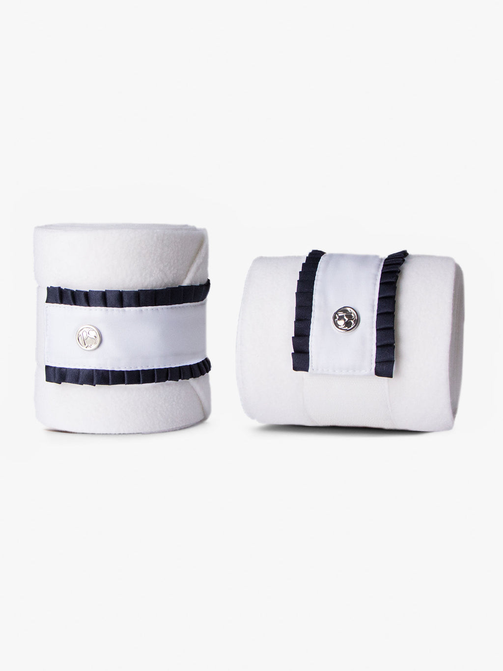 PS of Sweden White with Navy Ruffle Bandages