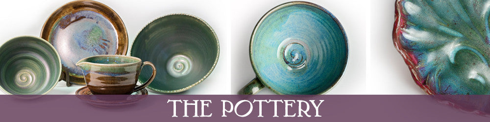 Pottery by Linda B Pottery, Barre, Vermont,