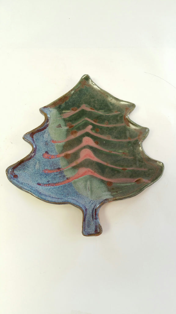 Imperfectly Perfect Christmas Tree Plate