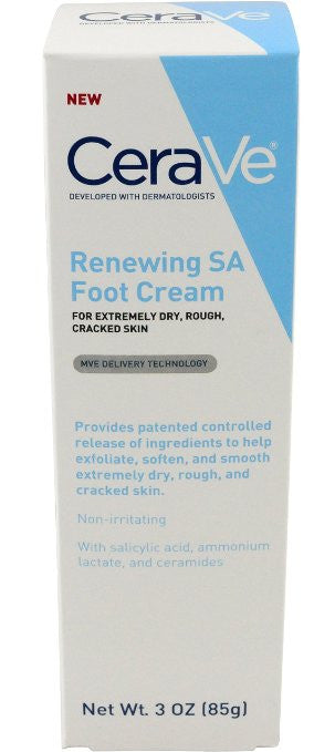 CeraVe Renewing SA Foot Cream