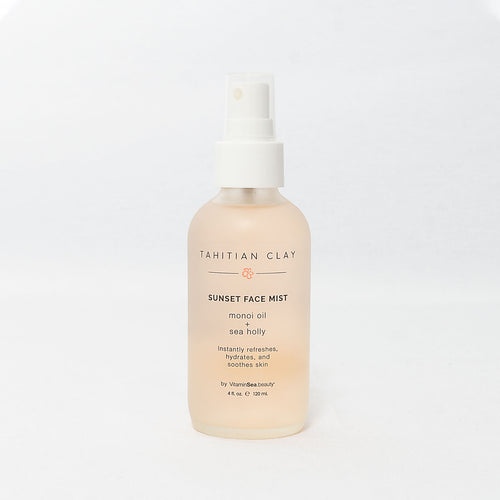 Tahitian Clay Sunset Face Mist