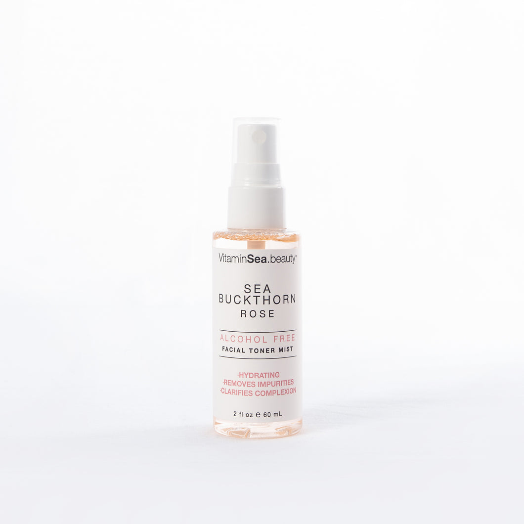 Sea Buckthorn & Rose Facial Toner Mist (Travel Size)