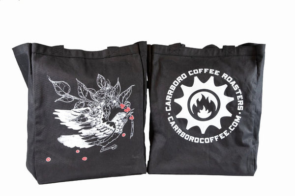 Carrboro Coffee Roasters Tote - Black