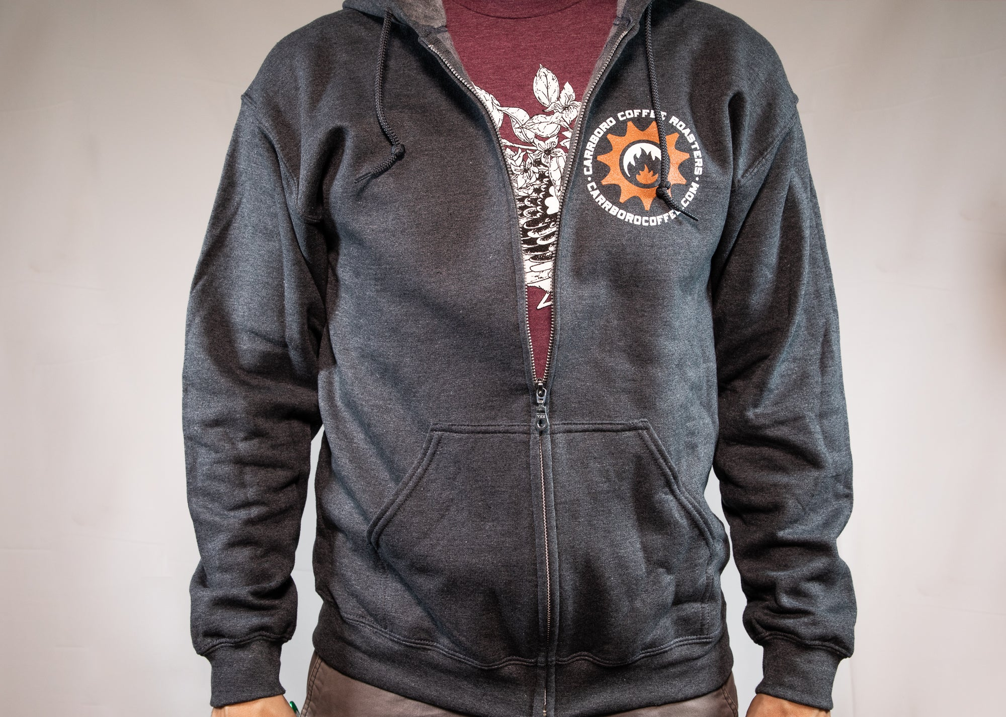 Carrboro Coffee Roasters Hooded Sweatshirt