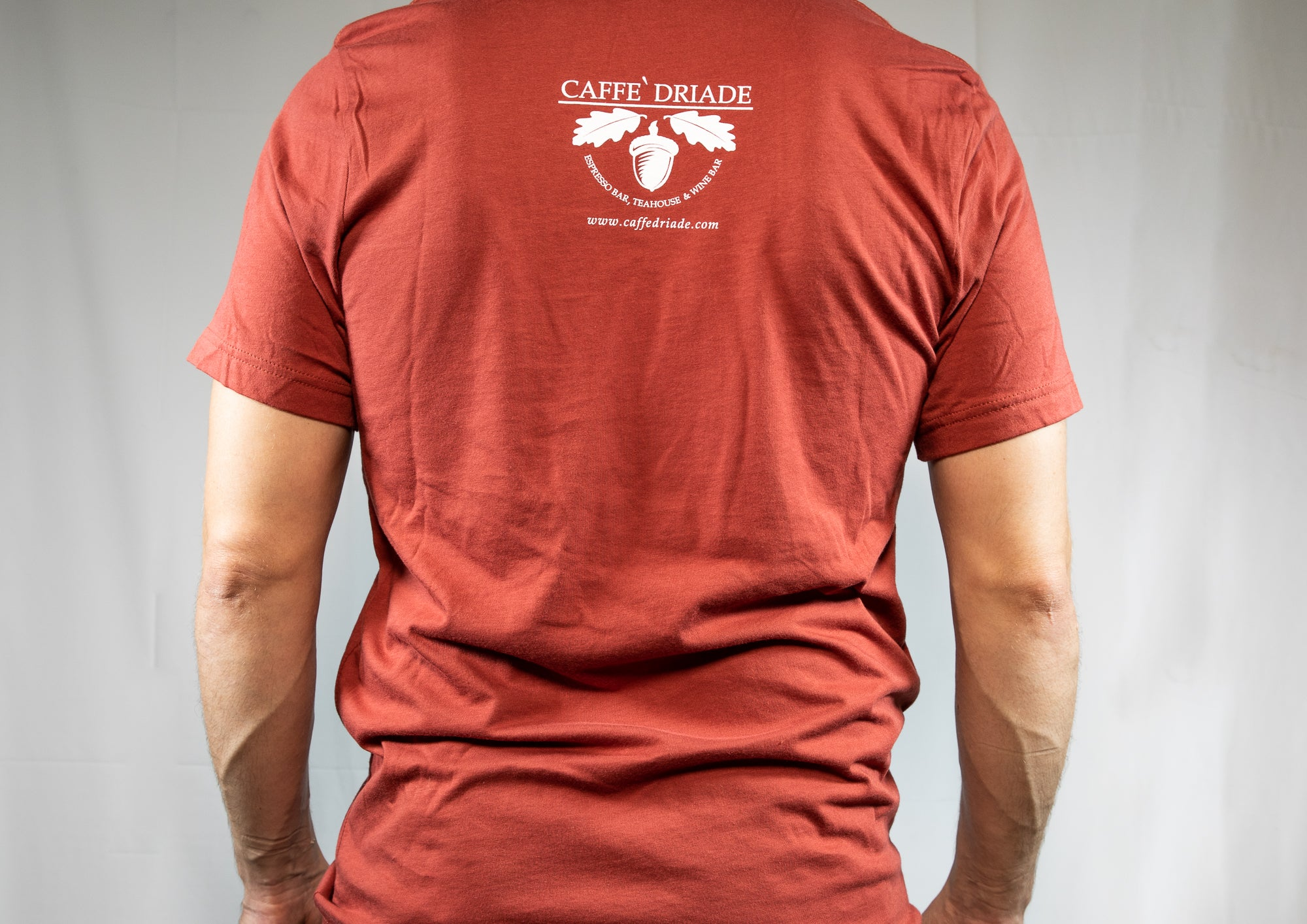 Caffe Driade Rust Color Unisex T-Shirt