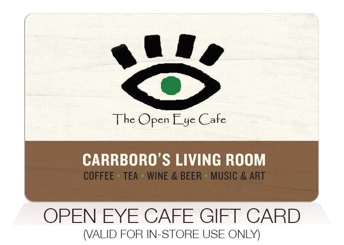 Open Eye Cafe Gift Card