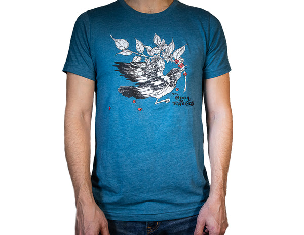 Open Eye Heather Teal Unisex T-Shirt
