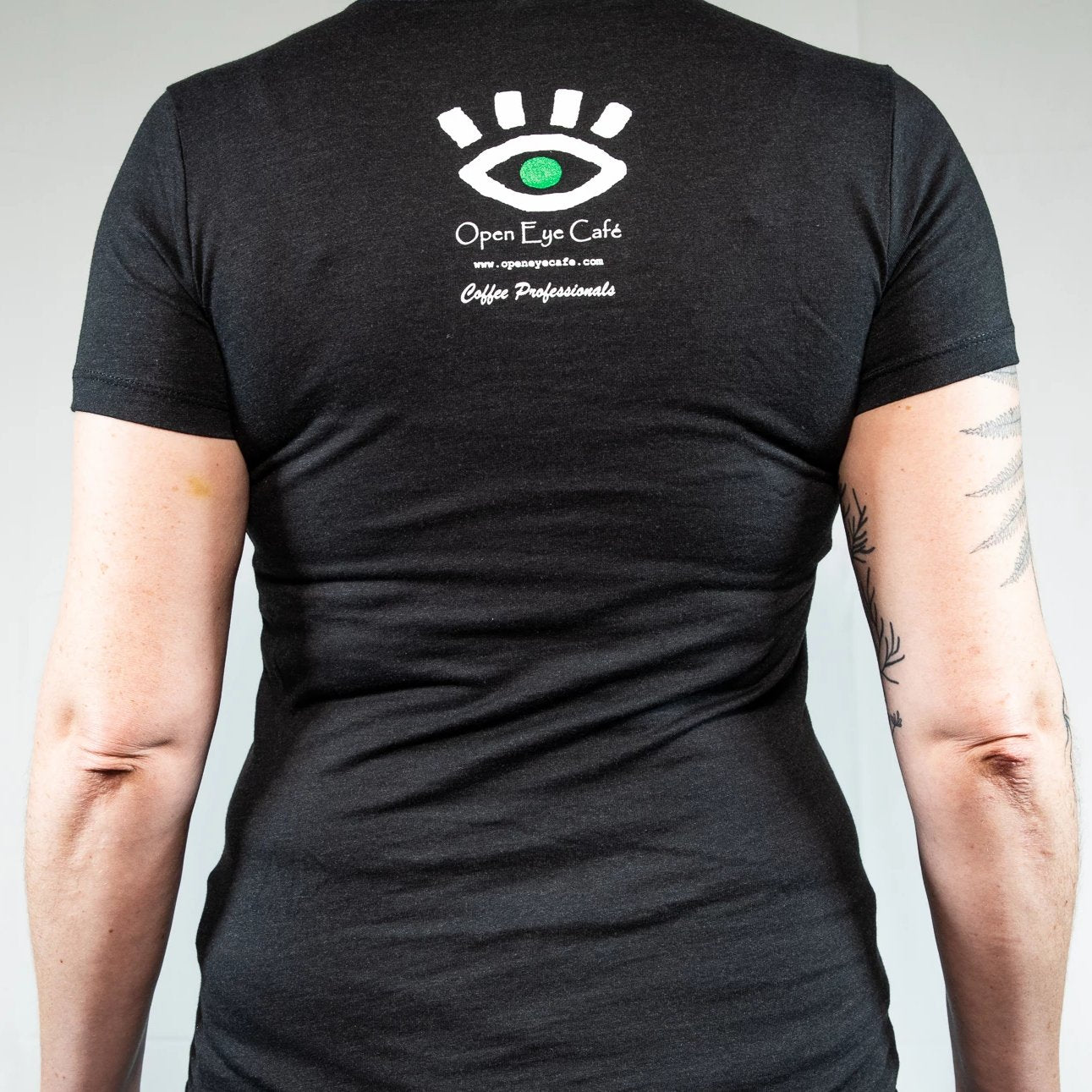Cyclops Fitted Black T-Shirt