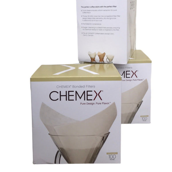 Chemex pre-folded square filters
