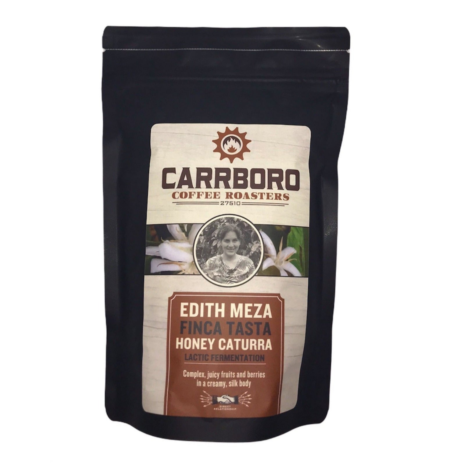 Edith Meza - Finca Tasta - Honey Caturra Lactic Fermentation