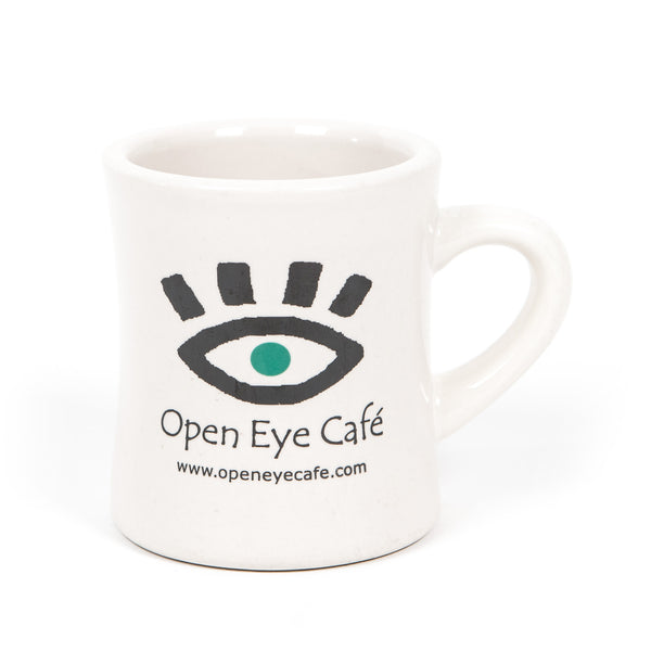 Open Eye Cafe Coffee Mug