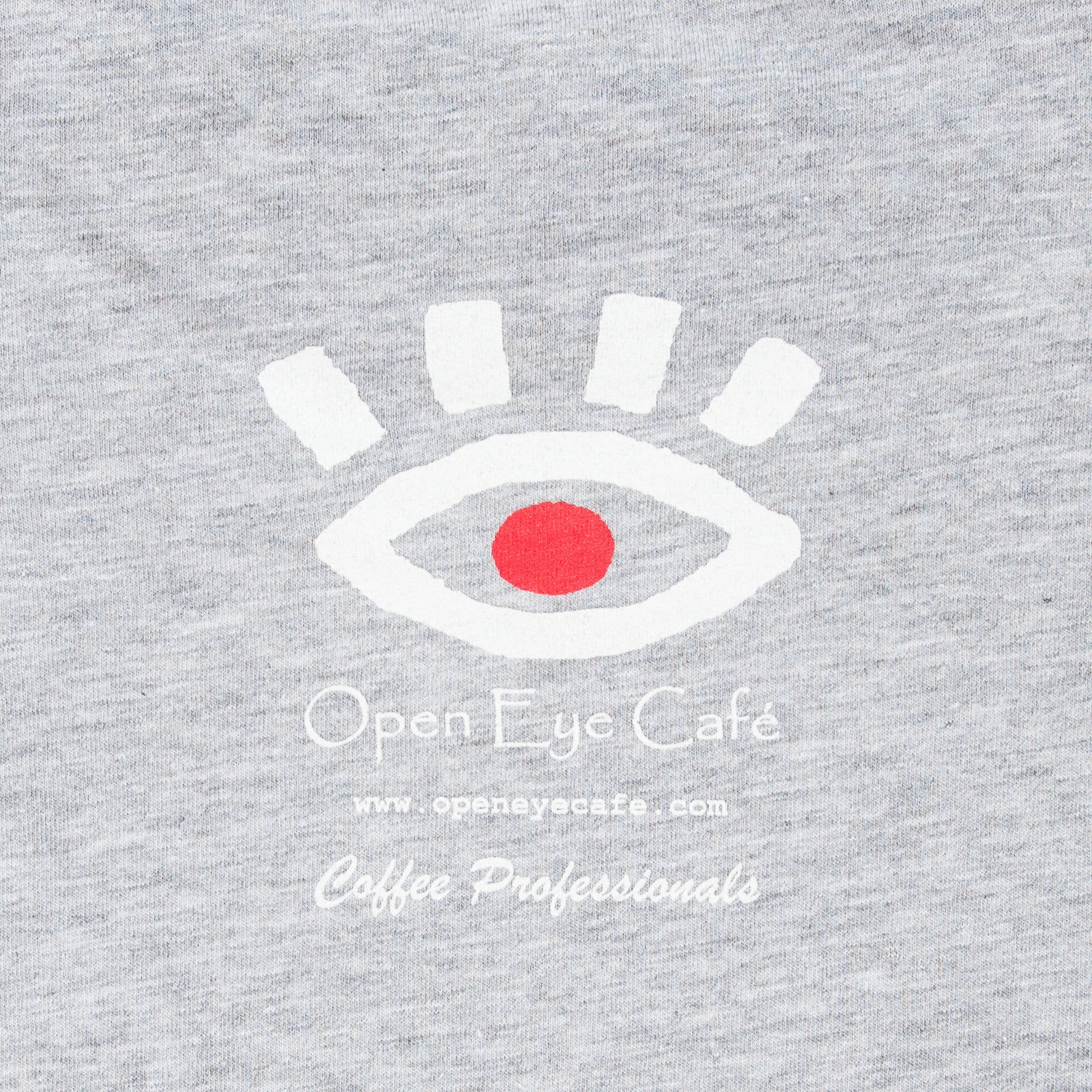 Open Eye Light Grey T-Shirt