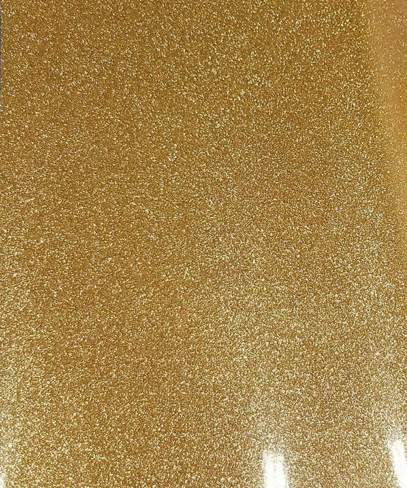 12x20 Gold Glitter HTV Sheet