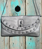 Skull Clutch Purse - Elusive Cowgirl Boutique