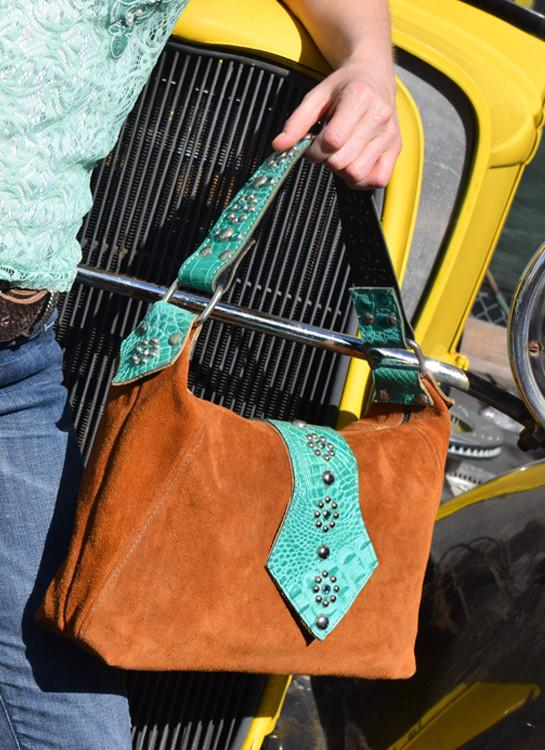 Leather Western Embossed Purse - Elusive Cowgirl Boutique
