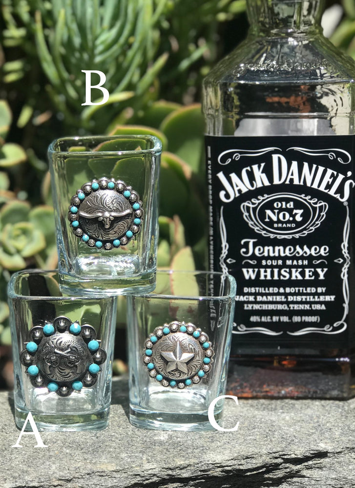 Swarovski Crystal Shot Glasses - Elusive Cowgirl Boutique