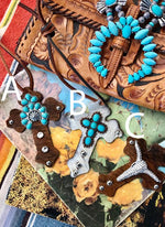 Saddle Crosses - Elusive Cowgirl Boutique