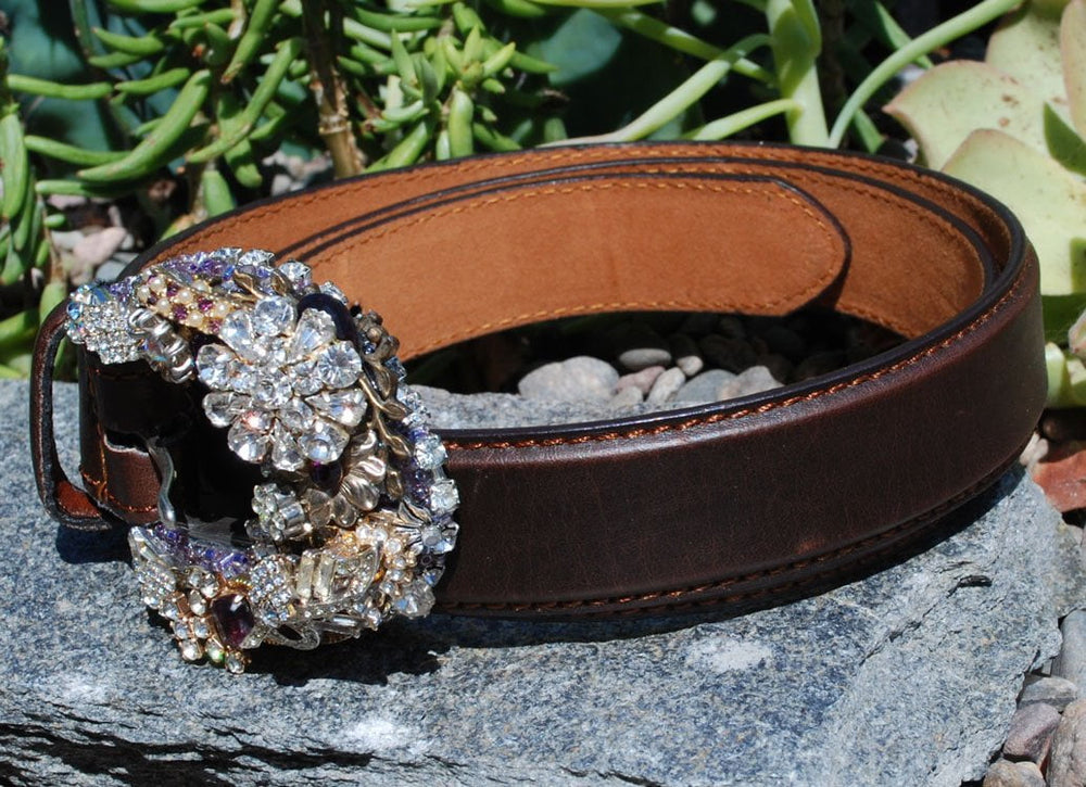 Vintage Mini Rodeo Buckle & Belt - Elusive Cowgirl Boutique