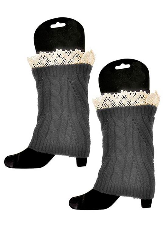 Cowgirl Knit Boot Cuffs - Elusive Cowgirl Boutique