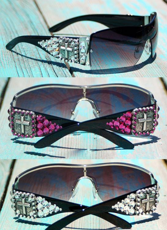 Mega Cross Sunglasses - Elusive Cowgirl Boutique