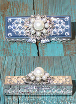 Pill Box - Pearls - Elusive Cowgirl Boutique