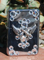 Lighter - Pistol Angel Wings - Elusive Cowgirl Boutique
