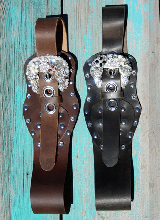 * Outlaw Rhinestone Belt - Elusive Cowgirl Boutique