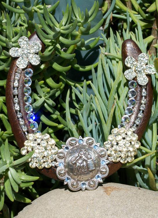 Barrel Racer Horseshoe - Elusive Cowgirl Boutique