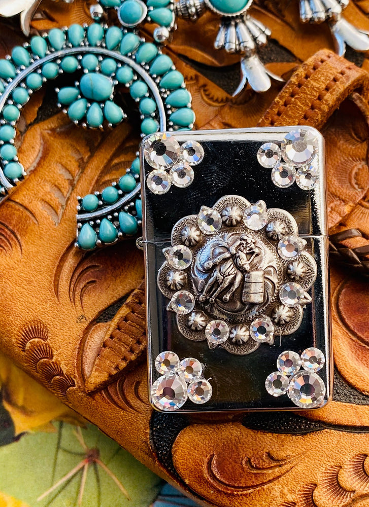 Lighter - Metal Concho