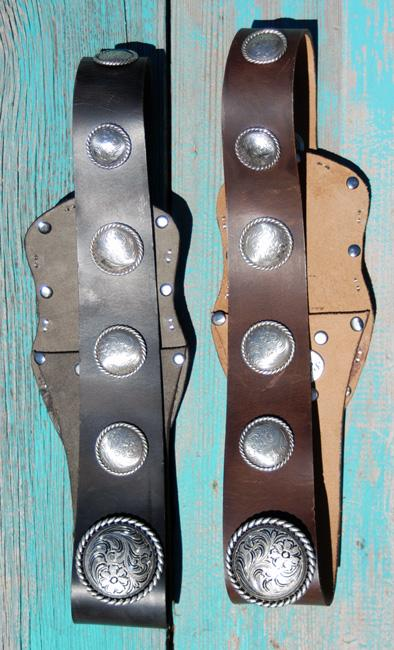 * Outlaw Leather Cowgirl Belt - Elusive Cowgirl Boutique