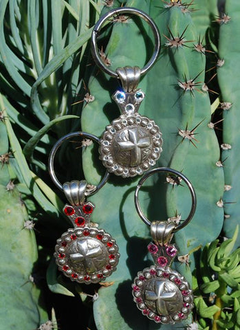 Concho Cross Key Chain - Elusive Cowgirl Boutique