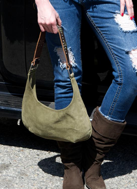 Suede Cowgirl Purse