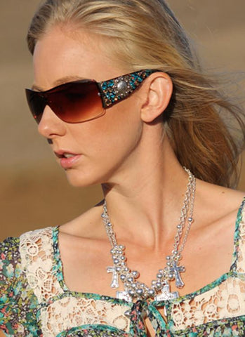 """Crystal Gypsy Sunglasses"" - Elusive Cowgirl Boutique"