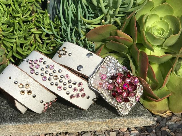"""Vintage Elegance Buckle & Belt - Small"" - Elusive Cowgirl Boutique"