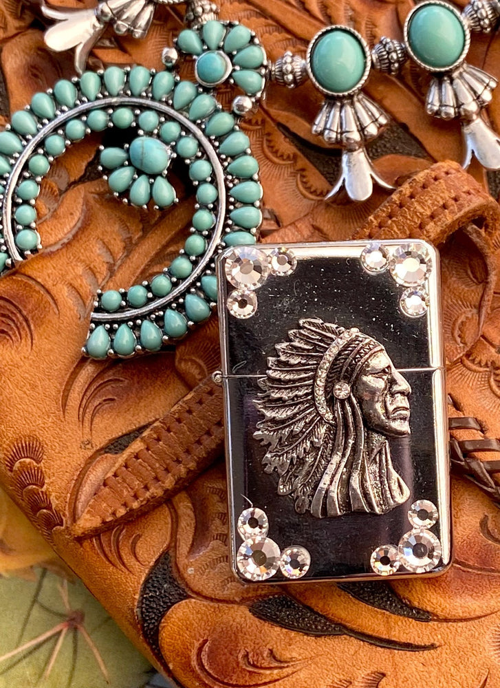 Lighter - Rhinestone Native