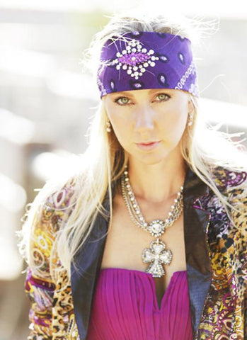 Cowgirl Jeweled Bandanas - Elusive Cowgirl Boutique