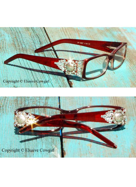 Out West Cowgirl Eye Glasses - Elusive Cowgirl Boutique
