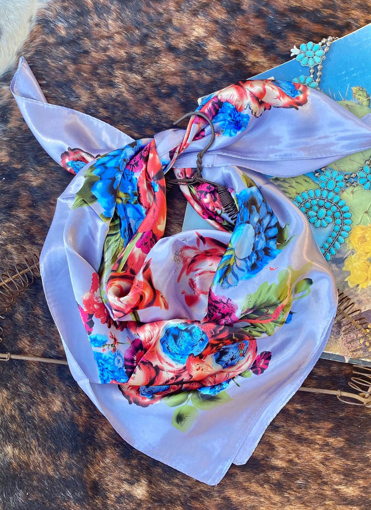 Out West Floral Scarf