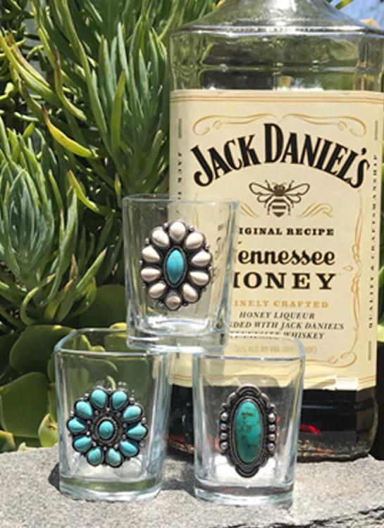 Cowgirl Whiskey Shot Glasses - Elusive Cowgirl Boutique