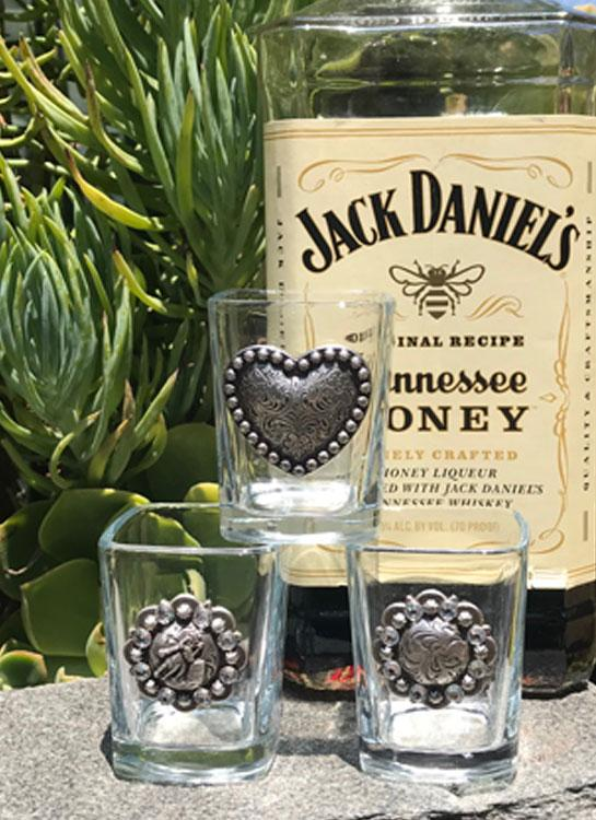 Western Whiskey Shot Glasses